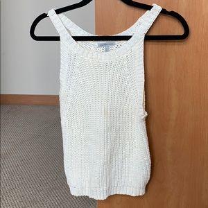Sweater Material Tank Top